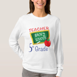 Camiseta 5to Profesor del grado
