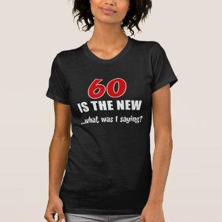 Camiseta ¿60 nuevo cuál era yo está diciendo?