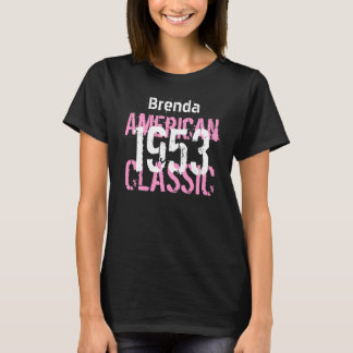 Camiseta 60.o regalo de cumpleaños de la obra clásica