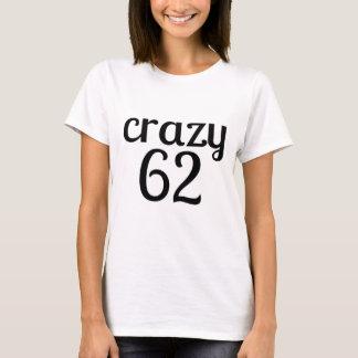 Camiseta 62 diseños locos del cumpleaños