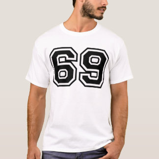Camiseta 69 sesenta y nueve sesenta y nueve iconos de la