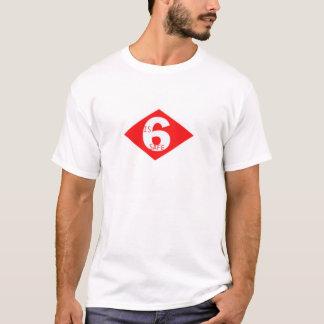Camiseta 6 es seguro