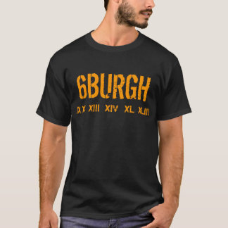 Camiseta 6BURGH, IX, X, XIII, XIV, XL, XLIII - modificado
