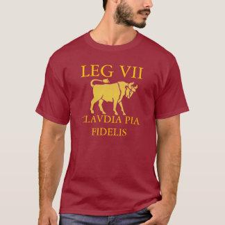 Camiseta 7ma legión romana (Claudia)