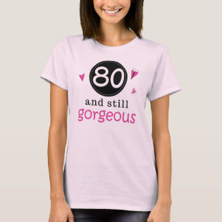 Camiseta 80 y aún idea magnífica del regalo de cumpleaños