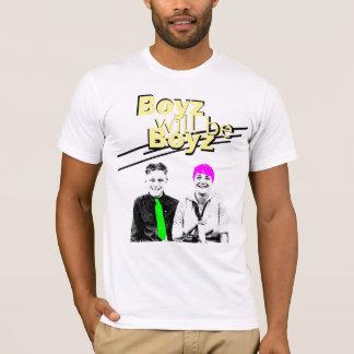 camiseta 80s - los muchachos serán muchachos
