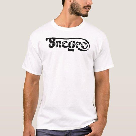 Camiseta 8negro logo, ton up spirit since 2006