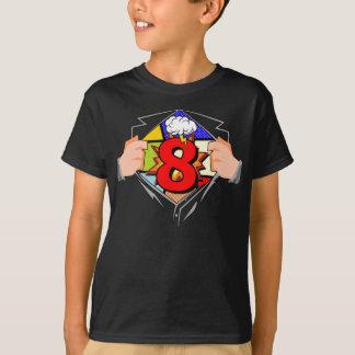 Camiseta 8vo Cumpleaños cómico