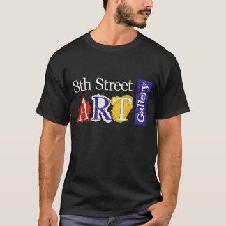 Camiseta 8vo Logotipo de la galería de arte de la calle