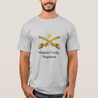 Camiseta 8vo Regimiento de caballería de Virginia
