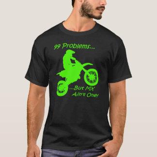Camiseta ¡99 problemas sino el MX no es uno! Verde en negro