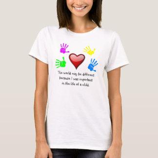 Camiseta A0001. Diferencié en el Life.Shirt.1