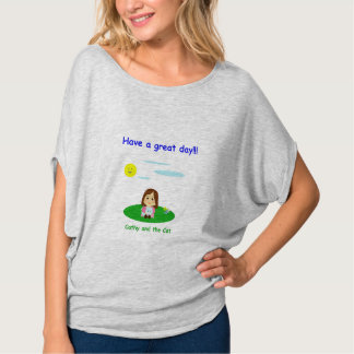 """Camiseta """"A great day!"""""""
