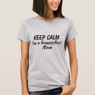 Camiseta a juego de la mamá del homeschool