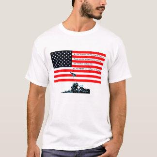Camiseta A los veteranos de la guerra