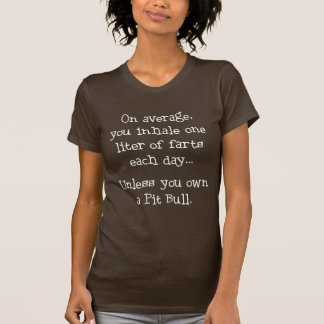Camiseta A menos que usted posea un pitbull