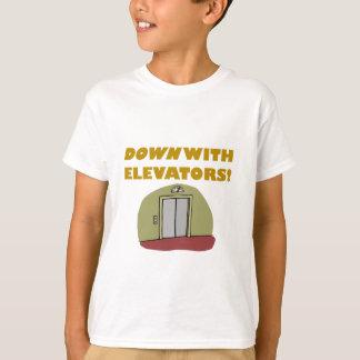 Camiseta Abajo con los elevadores