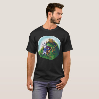 Camiseta Abajo del agujero de conejo