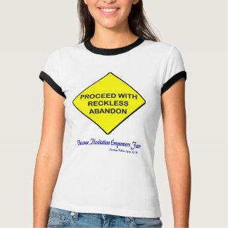 Camiseta Abandono imprudente - la mejor manera