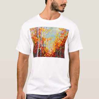 Camiseta Abedules del otoño