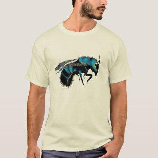 Camiseta Abeja de albañil azul