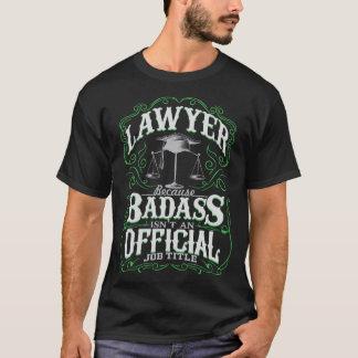Camiseta Abogado de Badass