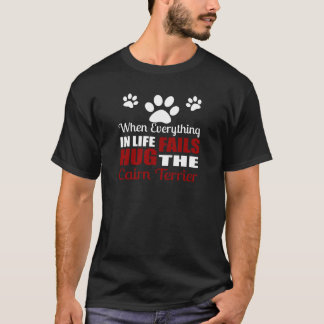 Camiseta Abrace el perro de Terrier de mojón