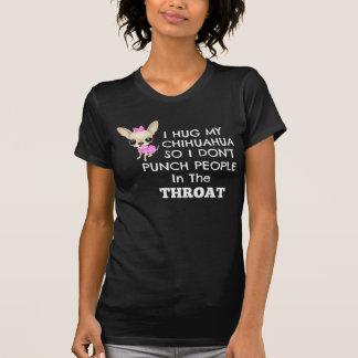 Camiseta Abrazo mi chihuahua tan .....