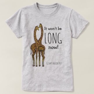 Camiseta Abril la jirafa embarazada