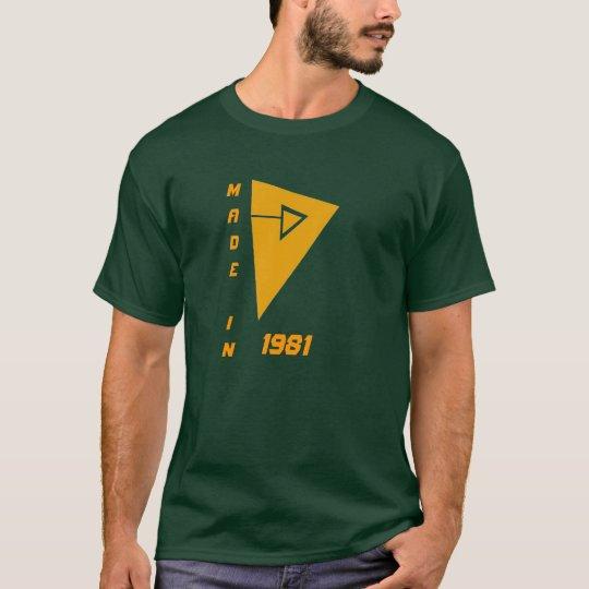 Camiseta absty, MADEIN, 1981