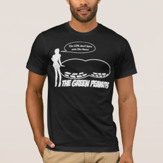 Camiseta Abucheo VERDE de los CACAHUETES