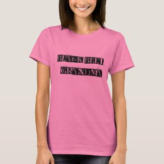 Camiseta Abuela de la correa negra-- Bloque del metal,