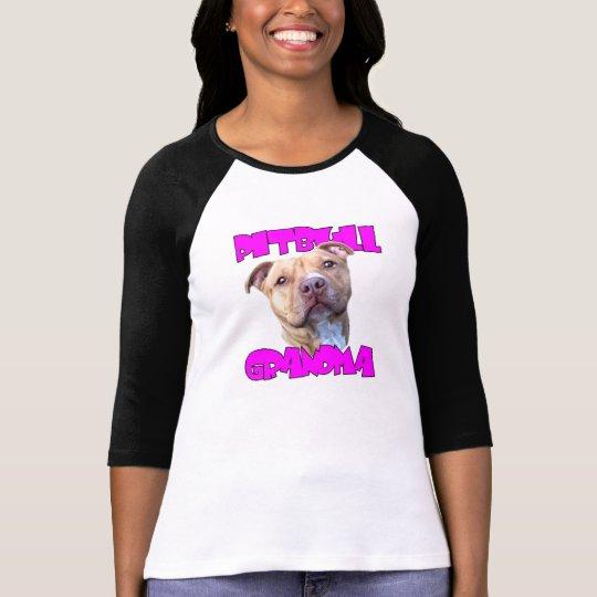 Camiseta Abuela del perro de Pitbull