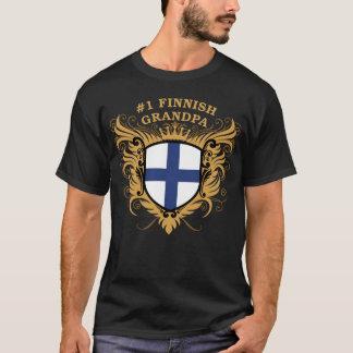 Camiseta Abuelo finlandés del número uno
