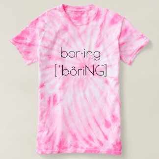 Camiseta aburrida