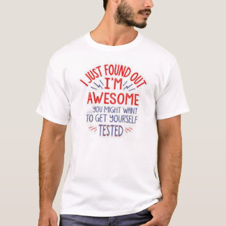 Camiseta Acabo de encontrar que hacia fuera soy