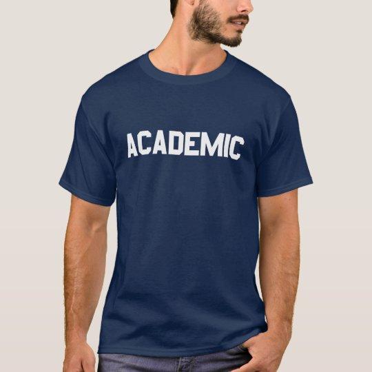 Camiseta Académico