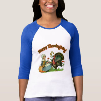 Camiseta - acción de gracias feliz