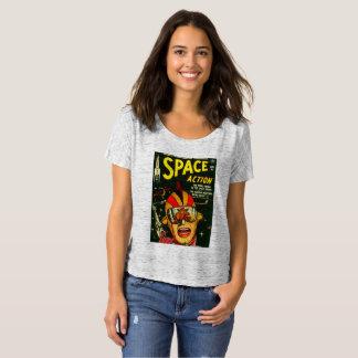 Camiseta Acción del espacio:  ¡EEK!  ¡Un monstruo!