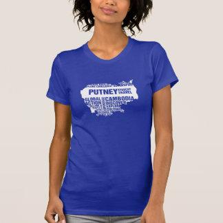 Camiseta Acción global Camboya en colores múltiples