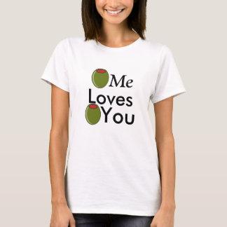 Camiseta Aceituna yo aceituna de los amores usted