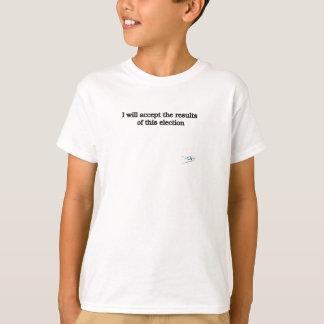 Camiseta Aceptaré los resultados