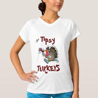 Camiseta achispada de Turquía