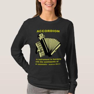Camiseta Acordeón: Un instrumento… (cita divertida!)
