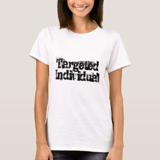 Camiseta Acoso electrónico (TI) individual apuntado
