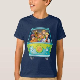 Camiseta Actitud 25 del aerógrafo de Scooby Doo