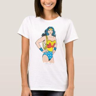 Camiseta Actitud del vintage de la Mujer Maravilla el | con