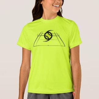 Camiseta activa del equipo de los chicas de
