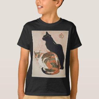 Camiseta Acuarela - 2 gatos - Théophile Alejandro Steinlen