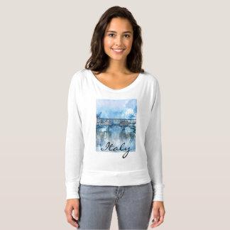 Camiseta Acuarela de Florencia Italia